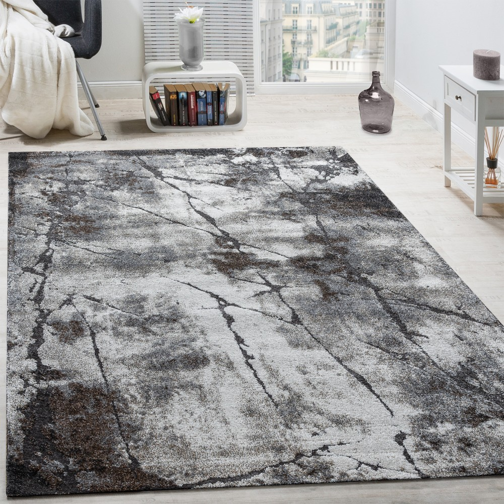 elegant designer rug living room abstract 3d used effect natural tones grey carpets short pile rugs. Black Bedroom Furniture Sets. Home Design Ideas