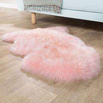 Australisches Lammfell Pastell Rosa