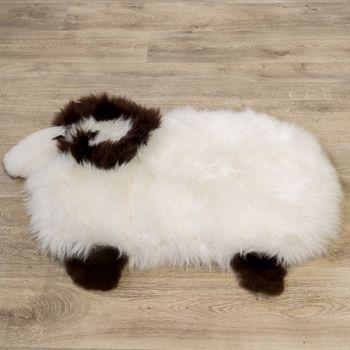 Australisches Lammfell Naturfell Spielteppich Kinderzimmer Dekofell Schaf Weiß – Bild 4