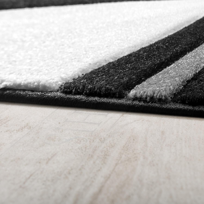 Teppich modern wohnzimmer schwarz ausverkauf ausverkauf for Teppich wohnzimmer modern