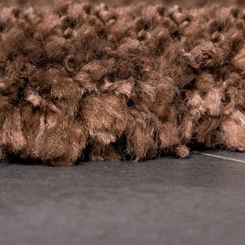 Shaggy Rug / Super Soft High Pile / Rio XXL Carpet / Shaggy Rug in Brown SALE – Bild 2