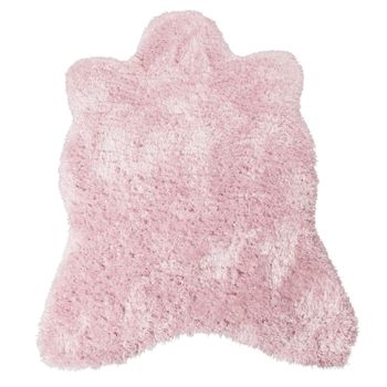 XXL Long Pile Rug Faux Fur Polar Bear Flokati Style Soft High-Quality Now In Pink – Bild 3