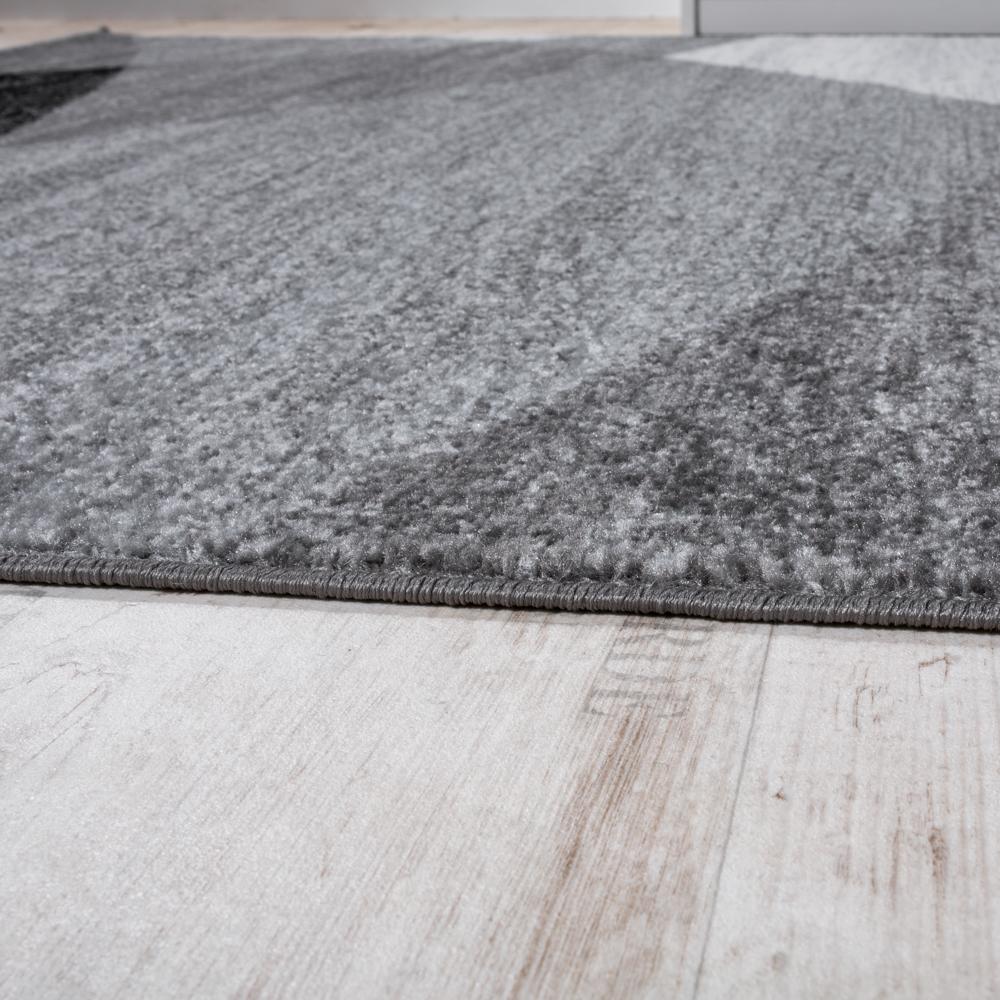l ufer set geometrisch grau wei design teppiche. Black Bedroom Furniture Sets. Home Design Ideas
