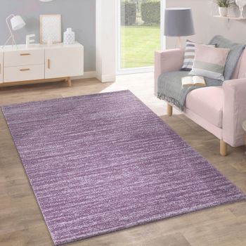 Rug Modern Pastel Colours Inspiration Purple