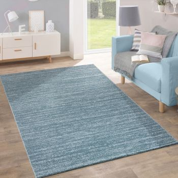 Rug Modern Pastel Colours Inspiration Turquoise