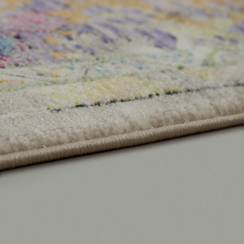 designer wohnzimmer teppich marokkanisches muster hochwertig bunte farben ebay. Black Bedroom Furniture Sets. Home Design Ideas