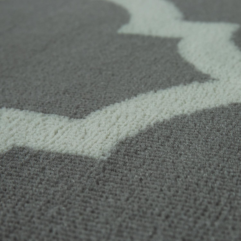 Designer Teppich Marokkanisches Muster Kurzflorteppich Modern Trend
