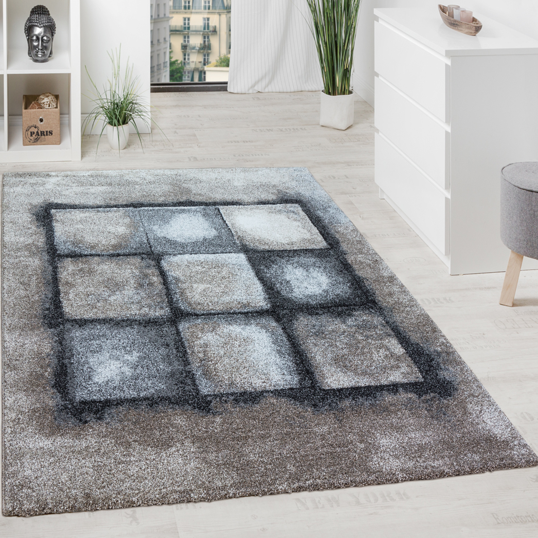 designer teppich geometrisches muster grau design teppiche. Black Bedroom Furniture Sets. Home Design Ideas