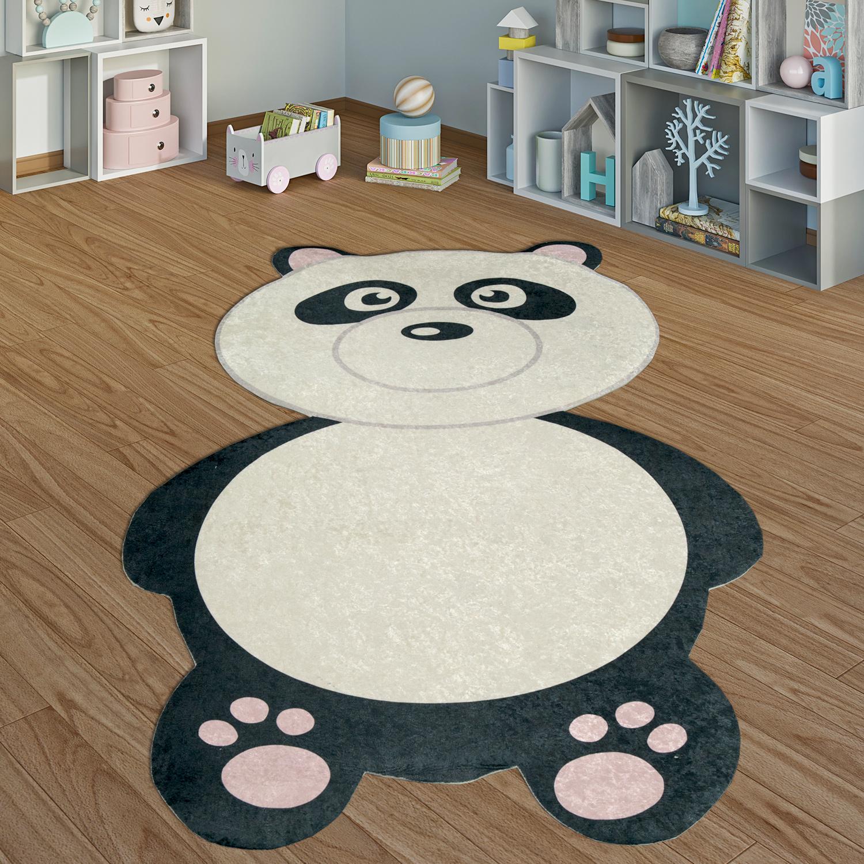 alfombra infantil habitación de juegos oso panda niño niña interior