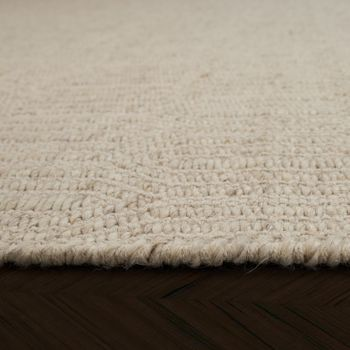 Skandi Look Flachgewebe Trend Teppich Dezente Optik – Bild 2