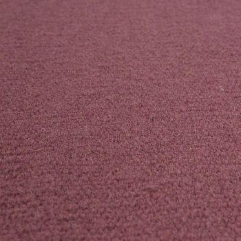 Skandi Look Fransen Wollteppich Einfarbig Pastell Pink – Bild 3