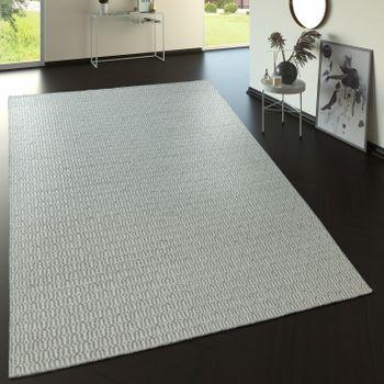 Wool Rug With Nordic Look Pattern In Beige – Bild 1
