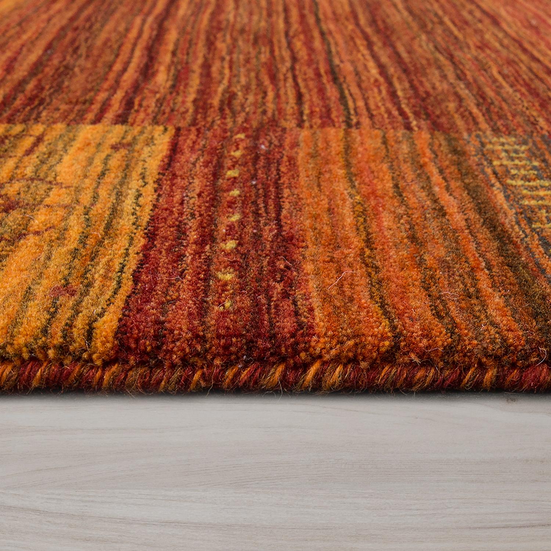 tapis en laine motif nomade rouge fait main tapis24. Black Bedroom Furniture Sets. Home Design Ideas
