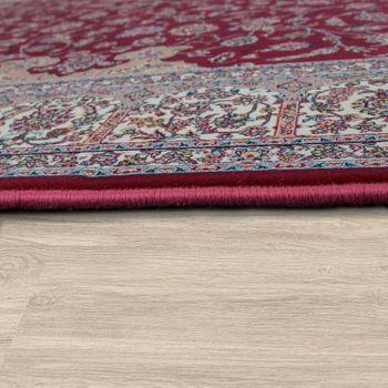 Tappeto Orientale In Acrilico Decorazioni Rosso Crema – Bild 2