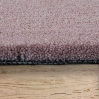 Polyacryl Teppich Sternmotiv Pastell Rosa – Bild 2