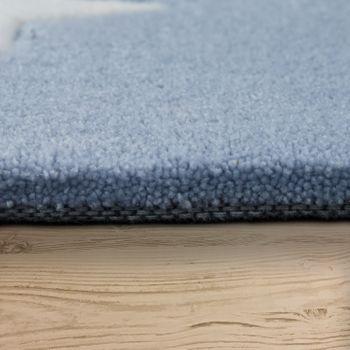 Acryl Teppich Sternenhimmel Pastell Blau – Bild 2