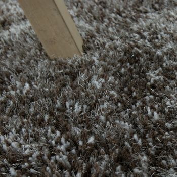 High pile carpet Super Soft Grey Handmade – Bild 3