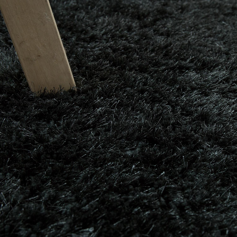soft shaggy teppich einfarbig anthrazit hochflor teppiche. Black Bedroom Furniture Sets. Home Design Ideas