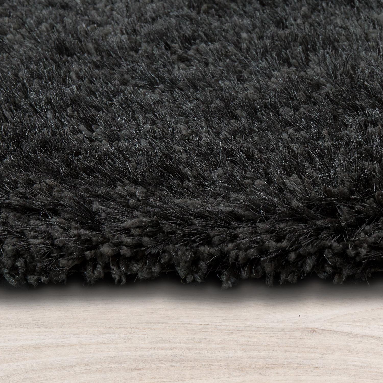 soft shaggy teppich einfarbig braun anthrazit hochflor teppiche. Black Bedroom Furniture Sets. Home Design Ideas