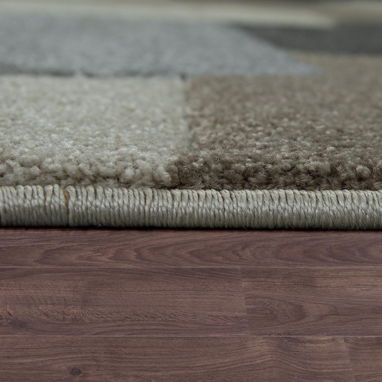designer teppich geometrisches design taupe design teppiche. Black Bedroom Furniture Sets. Home Design Ideas