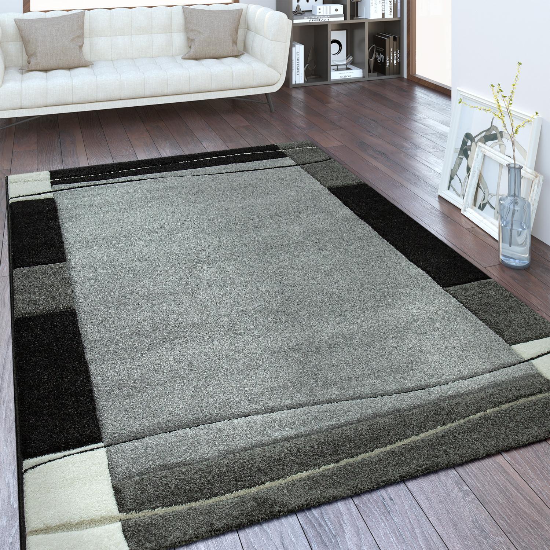 designer teppich bord re silber grau teppiche kurzflor teppiche. Black Bedroom Furniture Sets. Home Design Ideas