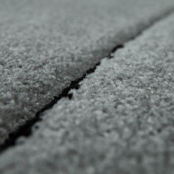 Designer Teppich Bordüre Silber Grau – Bild 3