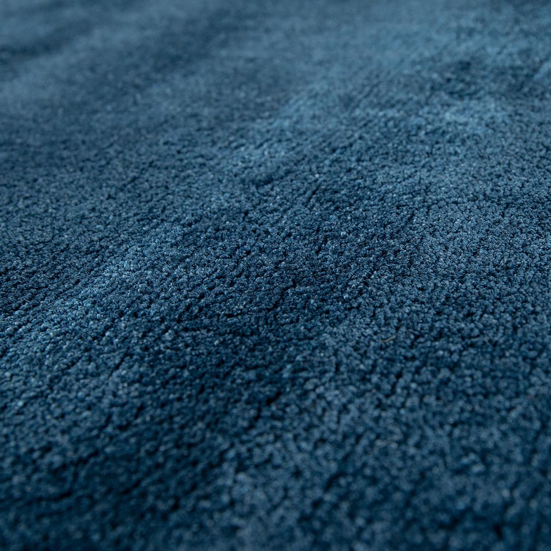 kurzflor teppich unifarben blau teppichcenter24. Black Bedroom Furniture Sets. Home Design Ideas