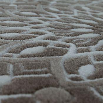 Designer Teppich Mandala Muster Rosa – Bild 3