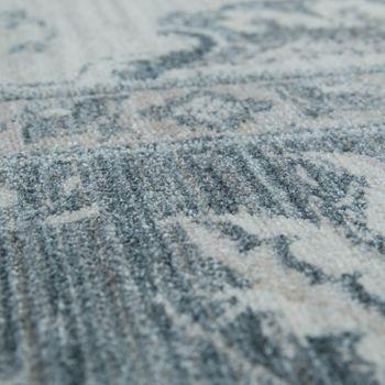 Orient Teppich Vintage Optik Bordüre Creme – Bild 3