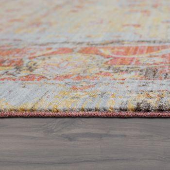 Orient Teppich Vintage Optik Ornamente Multicolor – Bild 2
