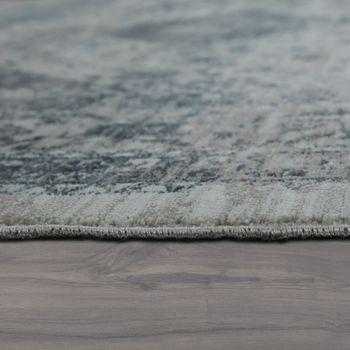Orient Teppich Vintage Optik Bordüre Grau – Bild 2