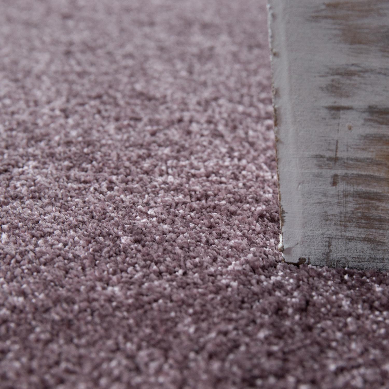 kurzflor teppich einfarbig pastell lila teppiche kurzflor teppiche. Black Bedroom Furniture Sets. Home Design Ideas