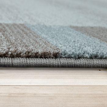 Heatset Teppich Bordüre Pastell Blau – Bild 2