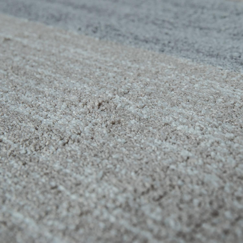 heatset teppich geometrisches muster silber grau teppiche kurzflor teppiche. Black Bedroom Furniture Sets. Home Design Ideas