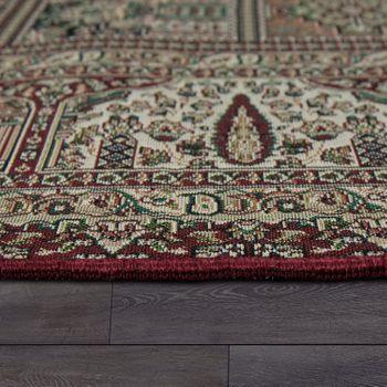 Orientteppich Patchwork Muster Rot – Bild 2