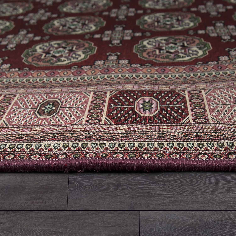 tapis oriental motif g om trique rouge tapis publicit actuelle. Black Bedroom Furniture Sets. Home Design Ideas