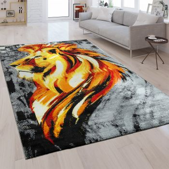 Designer Rug Lion Gold