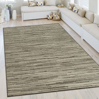 In- & Outdoor Teppich Sisal Optik Beige – Bild 1