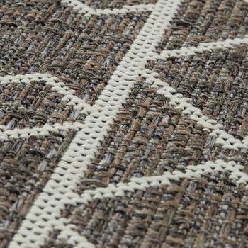 In- & Outdoor Teppich Maya Muster Beige – Bild 3