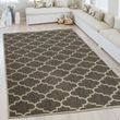 In- & Outdoor Teppich Marokkanisches Muster Beige 001