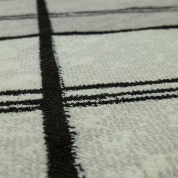 Designer Rug Geometric Pattern Grey – Bild 3