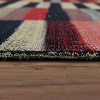 Indoor & Outdoor Rug Colourful Boho Stripes – Bild 2