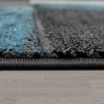 Designer Rug Geometric Pattern Turquoise – Bild 2