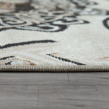 Design-vloerkleed mandalamotief bruin – Bild 2