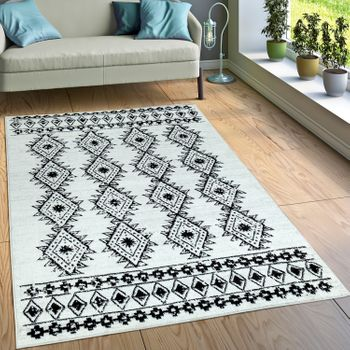 Designer Rug Indian Look Cream – Bild 1