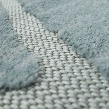 Indoor & Outdoor Rug Diamonds Light Blue – Bild 3