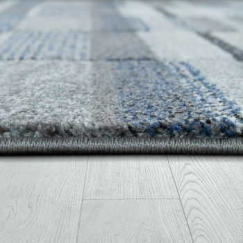Scandi Look Rug Pastel Blue Grey – Bild 2
