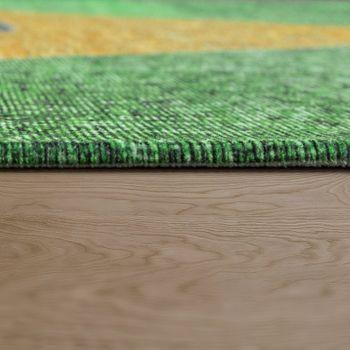 Flachgewebe Teppich Brasilianische Flagge – Bild 2