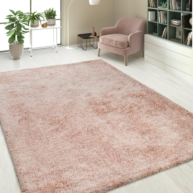 hochflorteppich einfarbig pink teppiche hochflor teppiche. Black Bedroom Furniture Sets. Home Design Ideas