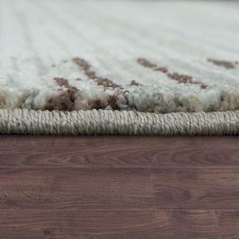 Designer Teppich Bordüre Farbverlauf Beige – Bild 2